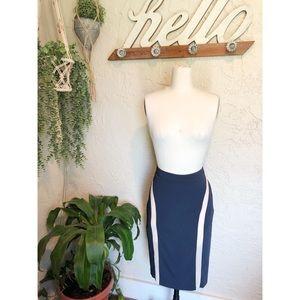 Rag & Bone Knee Length Pencil Skirt
